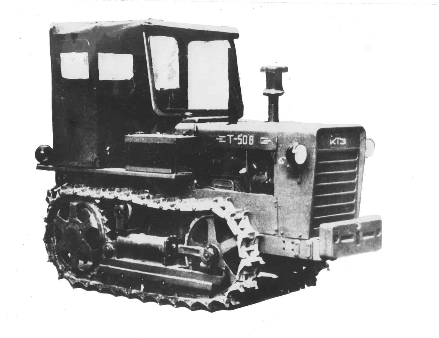 первый молдавский трактор Т-50
